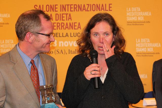 """Salone Internazionale Dieta Mediterranea: premio """"Ancel Keys"""" ai nipoti del fondatore della dieta mediterranea"""