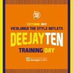 Running: domenica 1 ottobre il Deejay Ten Training Day
