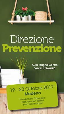 Direzione Prevenzione: a Modena il 19 e 20 ottobre un convegno internazionale col professor Khayat