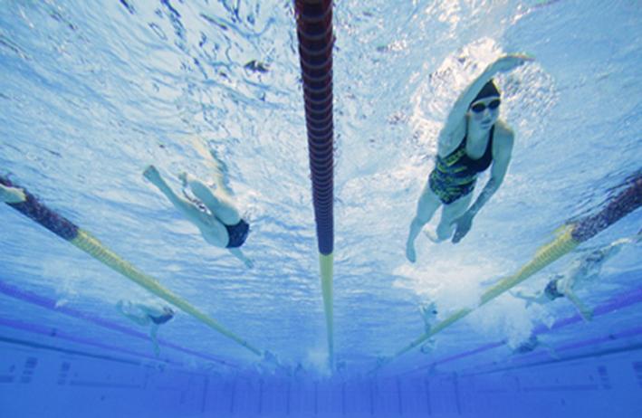 Piscina olimpica Londra 2012 (foto Reuters)
