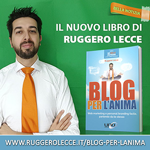 Blog per l'anima di Ruggero Lecce